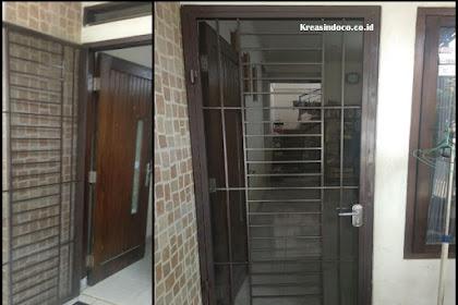 Pintu Kasa Besi dan Kusen Aluminium Pesanan Bpk Haris Tanjung Barat Jakarta Selatan