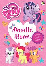MLP Doodle Book Book Media