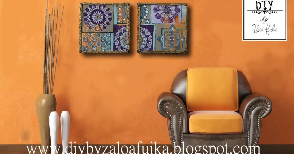 Diy by zaloa fuika cuadros de estilo etnico for Muebles estilo etnico