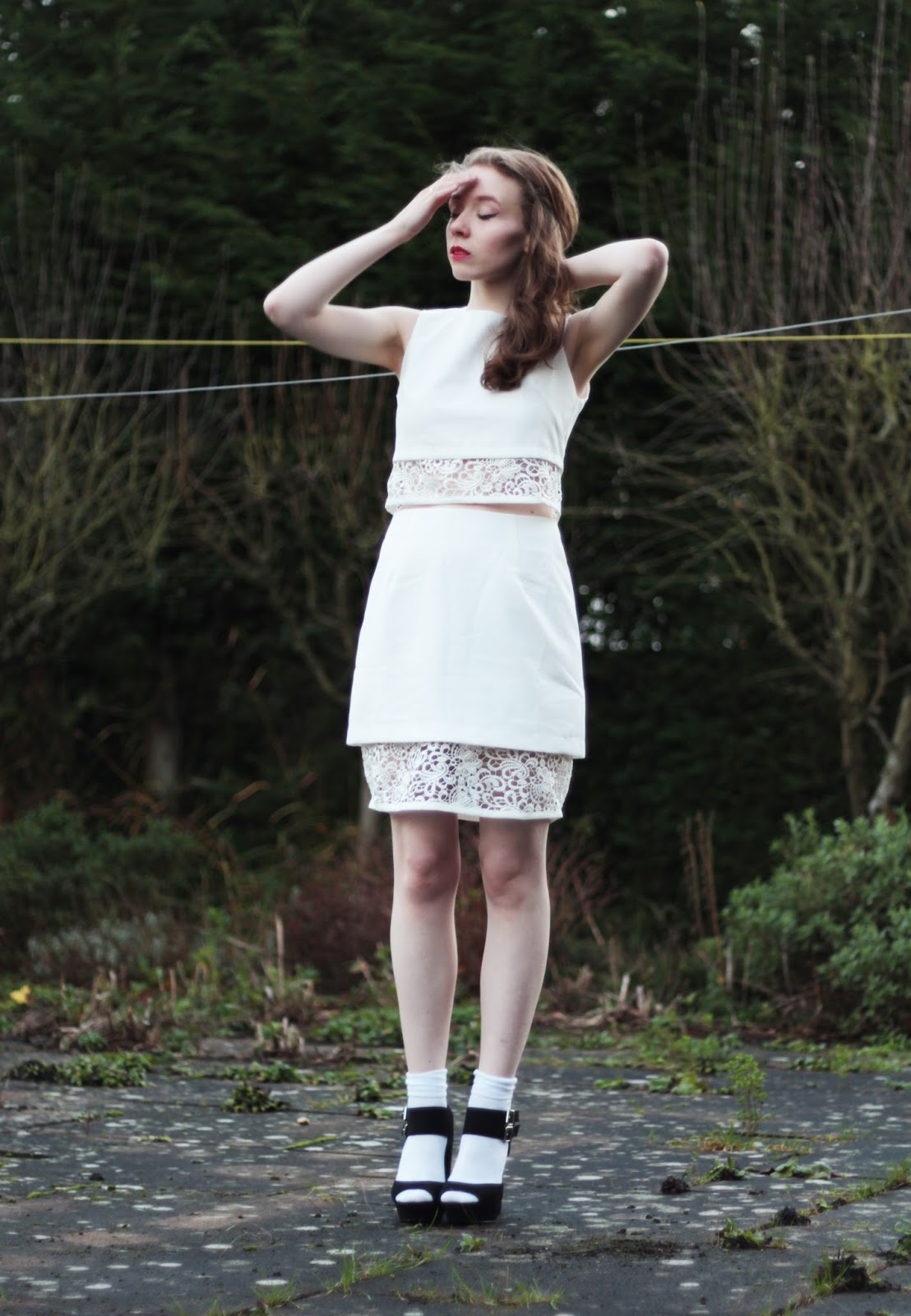 luxemme olivie two piece outfit inspiration ootd uk blogger