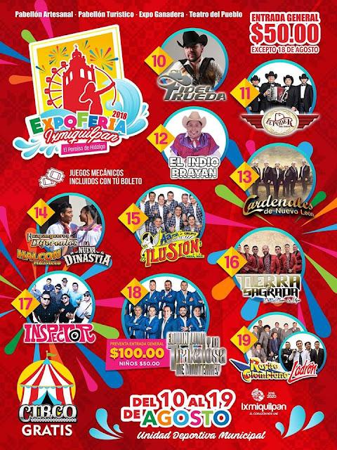 programa feria ixmiquilpan 2018
