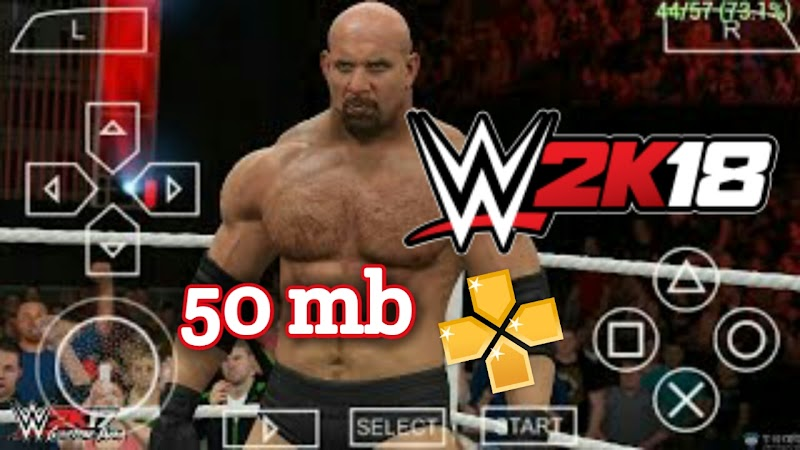 wwe 2k18 for android|ppssspp|highly compressed 50 mb only