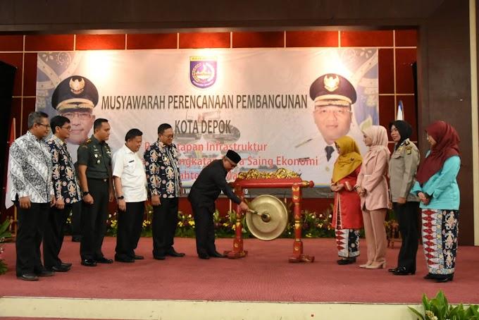 Walikota Buka Musrenbang RKPD Kota Depok Tahun 2020