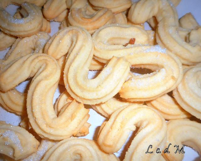 biscottini all'aroma d'arancia