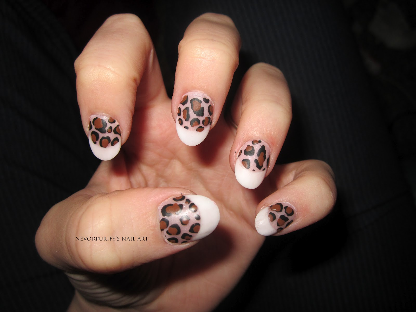 Animal Print Nails Art Unghie De Arte Nails Art Decoration