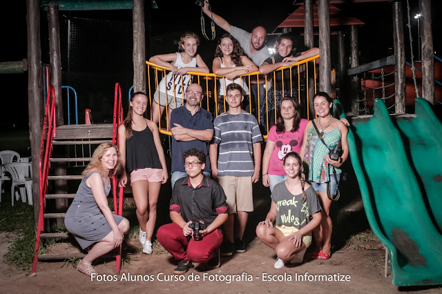 Turma de Fotografia 4112NH - Escola Informatize - Prof. Farias , Rodrigo Farias Fotografia