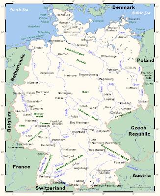 deutschland bezirke karte