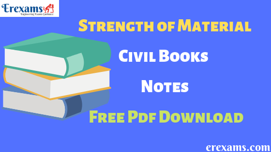 Strength of Material Civil Books & Notes Free Pdf Download | ErExams