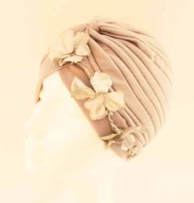 OI 1617 - Coleccion Flor - Plata - Turbante