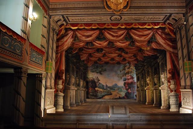 le théâtre de 150 places du château Litomysl