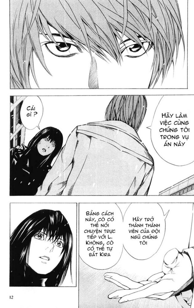 Death Note chapter 014 trang 13