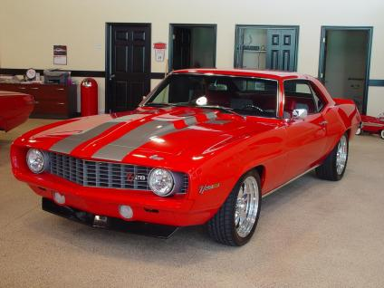 The Hottest Muscle Cars In The World 1969 Chevy Camaro