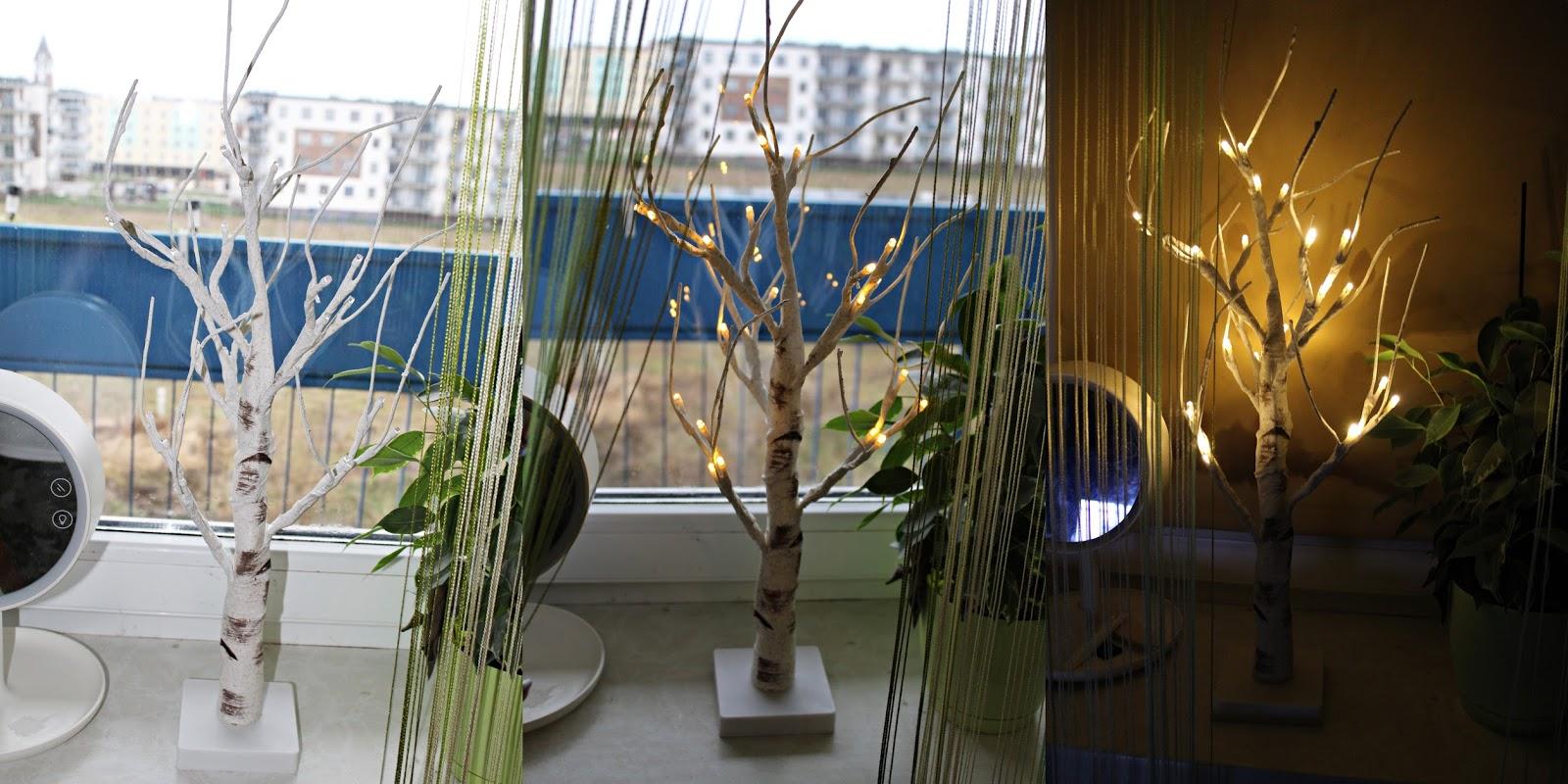 Lampka drzewko i sukienka na Święta - ROSEGAL
