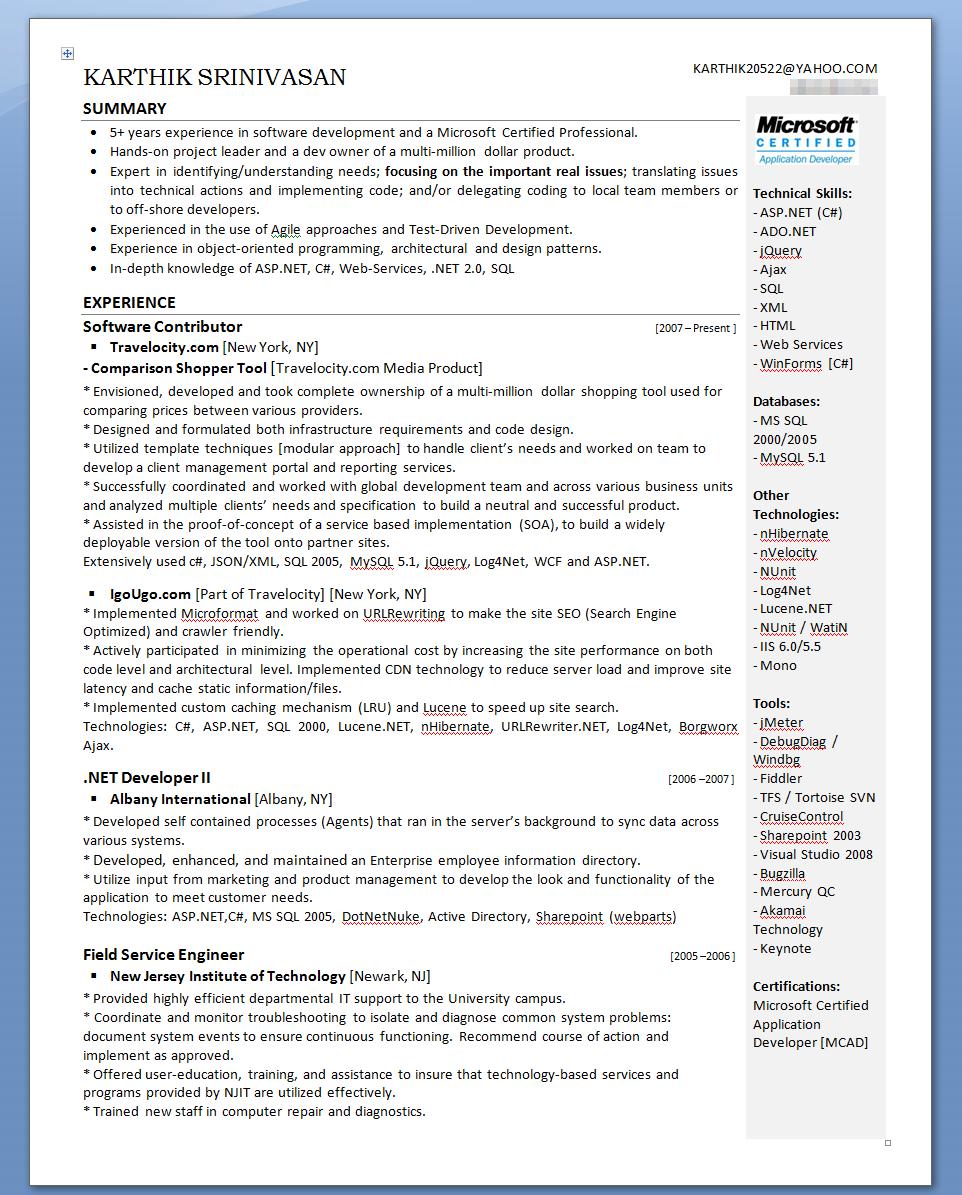 sales driven resume