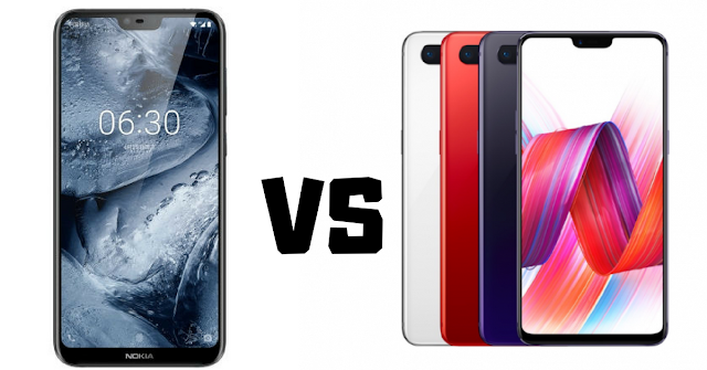 Oneplus 6 vs Nokia X6 Who is Best (Full Comparison)