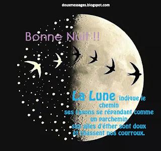 message d'amour pour shouaiter bonne nuit