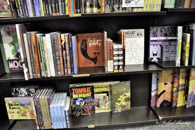 Fully Booked graphic novel section.