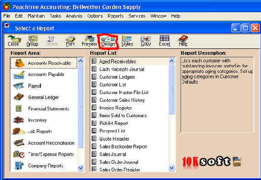 Peachtree 2010 Accounting Software