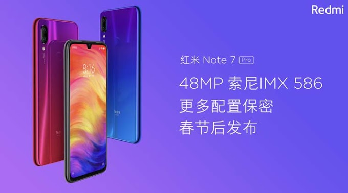 Redmi Note 7 Pro Price leaked, Camera Details, Availability In India
