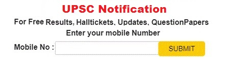 UPSC Notification 2019