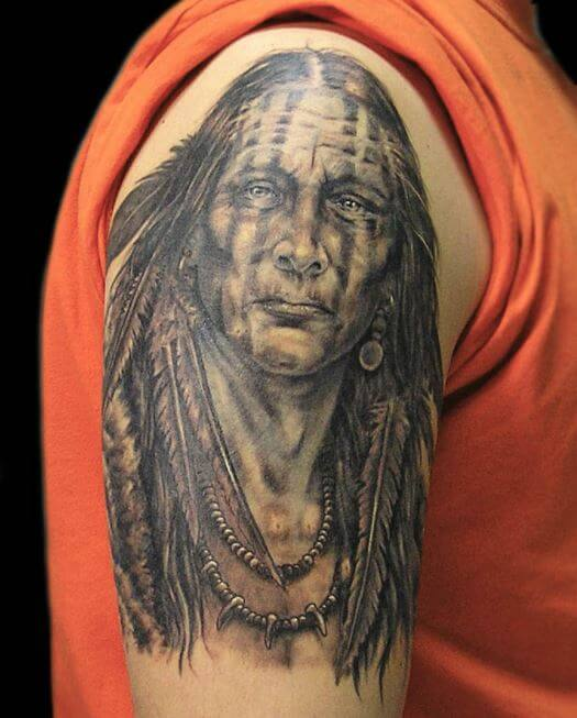 50 tribal native american tattoos ideas for men 2019
