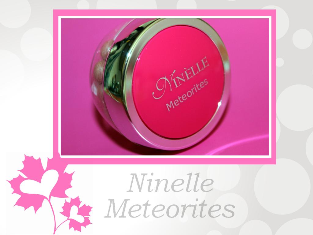 Отзыв: Румяна в шариках Ninelle Meteorites #02.