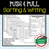 Push and Pull Sorting and Writing