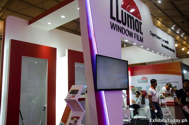 Llumar Trade Show Display