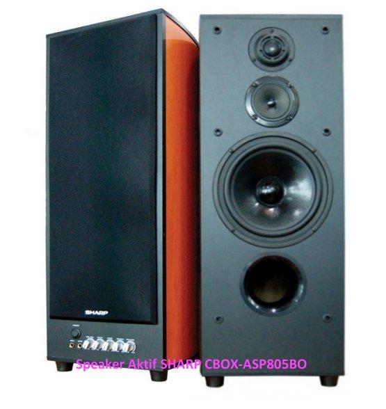 Speaker Aktif Harga SHARP CBOX-ASP805BO