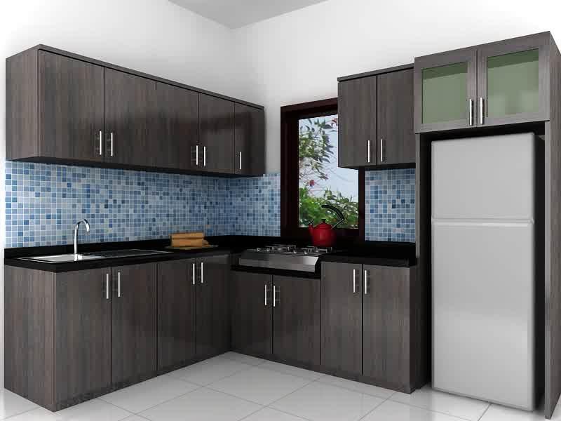 15 desain interior dapur minimalis terbaru for Kitchen design 4x4