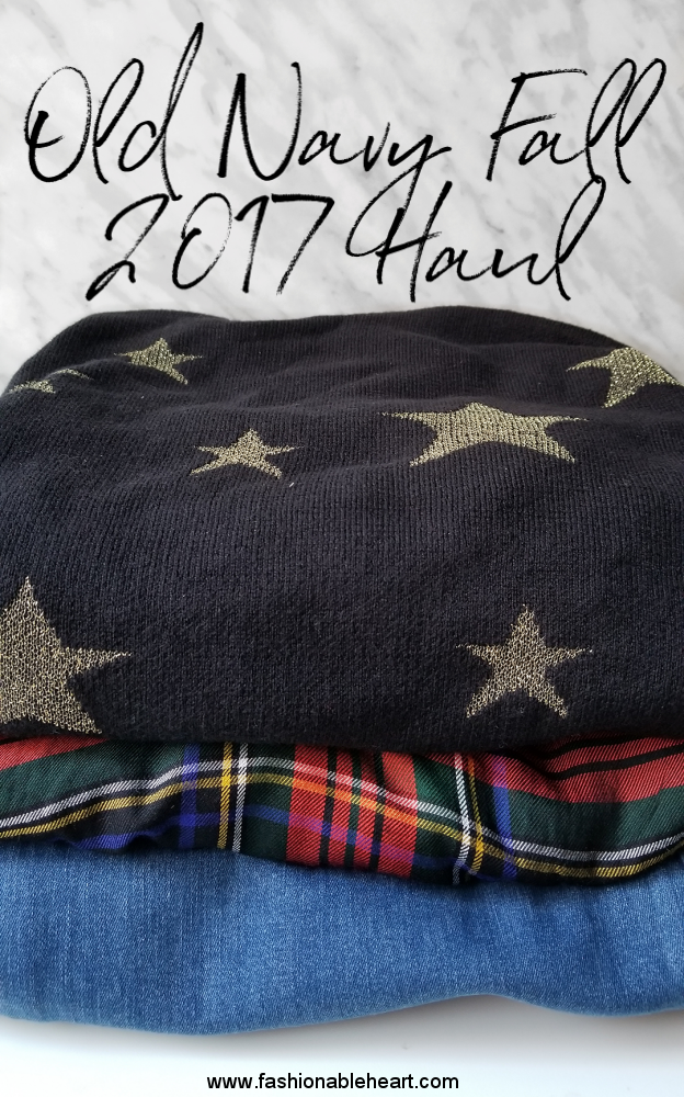bbloggers, bbloggersca, canadian beauty bloggers, fbloggers, plus size, old navy, haul, fall 2017, fashion, style, style blogger, sweater weather, fashionblogger, stars, plaid, denim