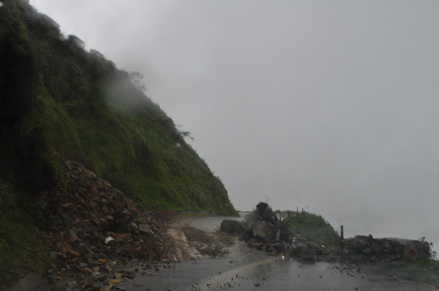 land slide in dhanolti