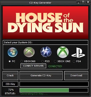 House of the Dying Sun Key Generator (Free CD Key)