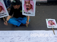 Sambut Kunjungan Raja Salman, Warga Bubuhkan Tanda Tangan dan Harapan Positif