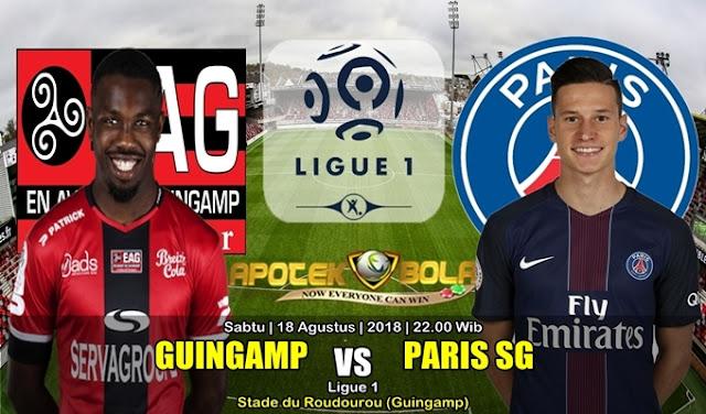 Prediksi Guingamp Vs PSG 18 Agustus 2018