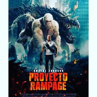 Proyecto Rampage, cine, película, cartelera, nos vamos al cine,