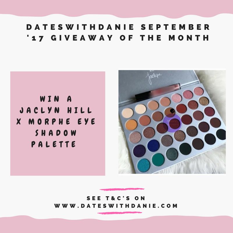 win a jaclyn hill x morphe eyeshadow palette blog giveaway