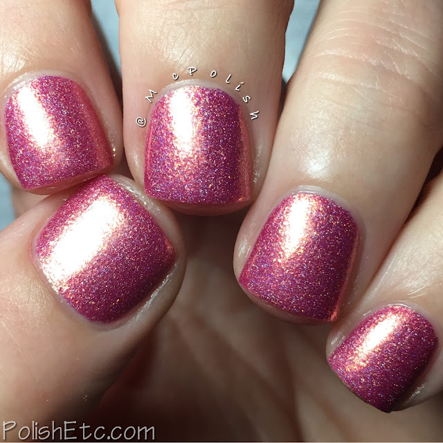 Nine Zero Lacquer - Holiday 2016 Collection - McPolish - Pink Christmas