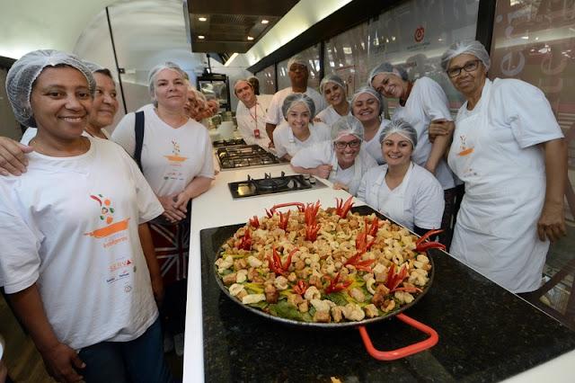 Paella Mineira, prato de estreia dos alunos do Servas na inauguração da Cozinha Escola Mineiraria || Omar Freire/Imprensa MG