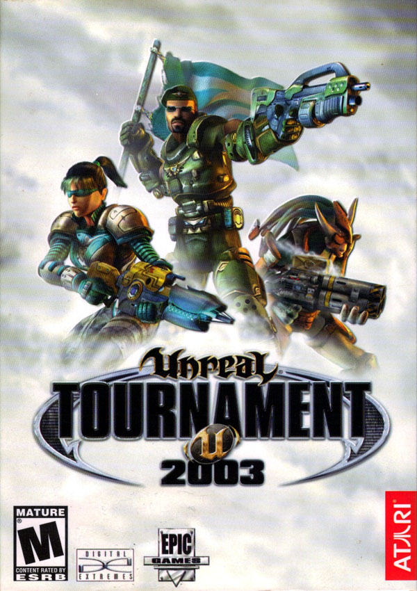 Unreal Tournament 2003 Download Cover Free Game