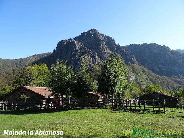 Ruta Vega Pociellu y Bosque Fabucao: Majada la Ablanosa