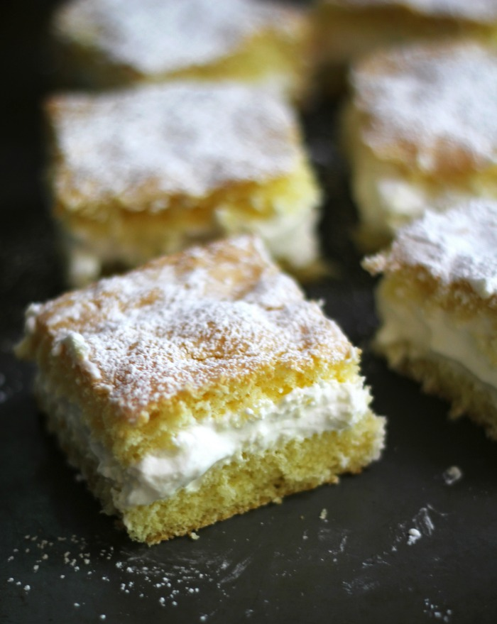 Tortine Soffici-Whipped Cream Mini Cakes