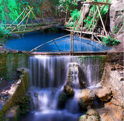 Objek wisata Air Terjun Kedung Pedut di Kulonprogo