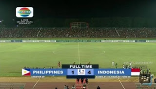 Filipina vs Indonesia 1-4 Grup A Piala AFF U-19 Kamis 5 Juli 2018
