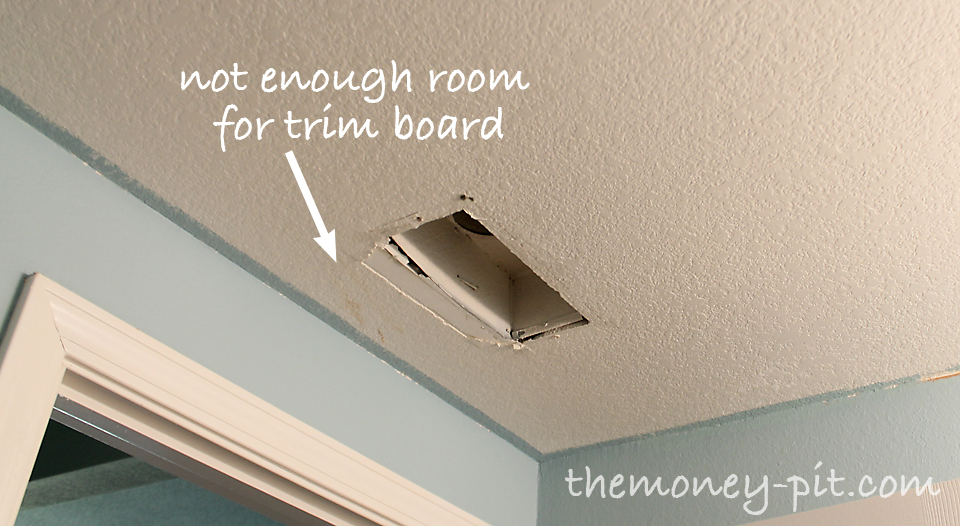 Installing A Beadboard Ceiling The Kim Six Fix - How to fix bathroom ceiling