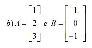 matriz a e b exemplo b2