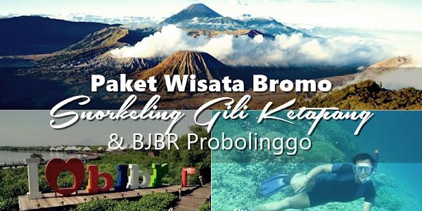 Paket Wisata Bromo Snorkeling Gili BJBR 2 hari 1 malam