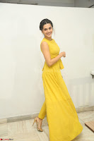 Taapsee Pannu looks mesmerizing in Yellow for her Telugu Movie Anando hma motion poster launch ~  Exclusive 065.JPG