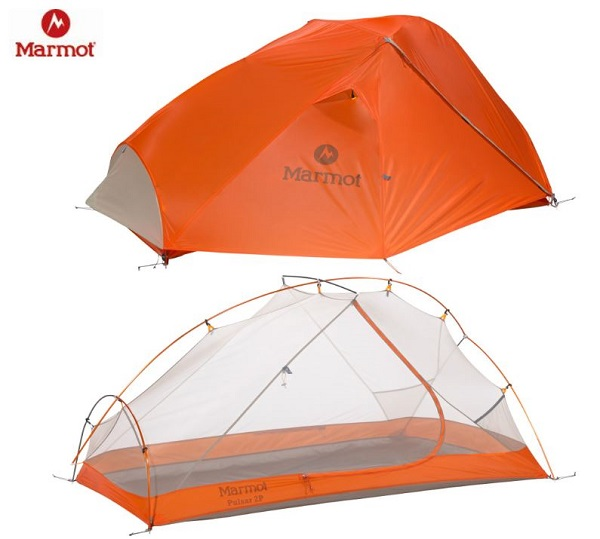 Marmot Pulsar 2 Tent and Footprint
