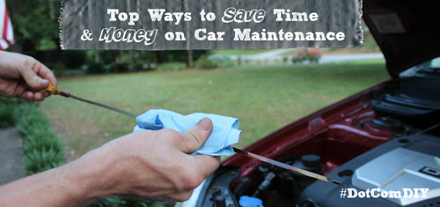 DIY oil change, DIY car maintenance, auto maintenance, car care #shop #collectivebias #cbias #DotComDIY